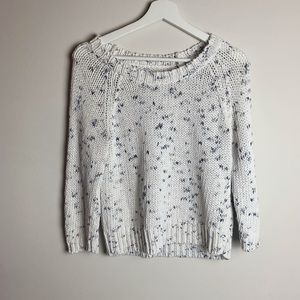 American Eagle Outfitters Knitted Sweater White
